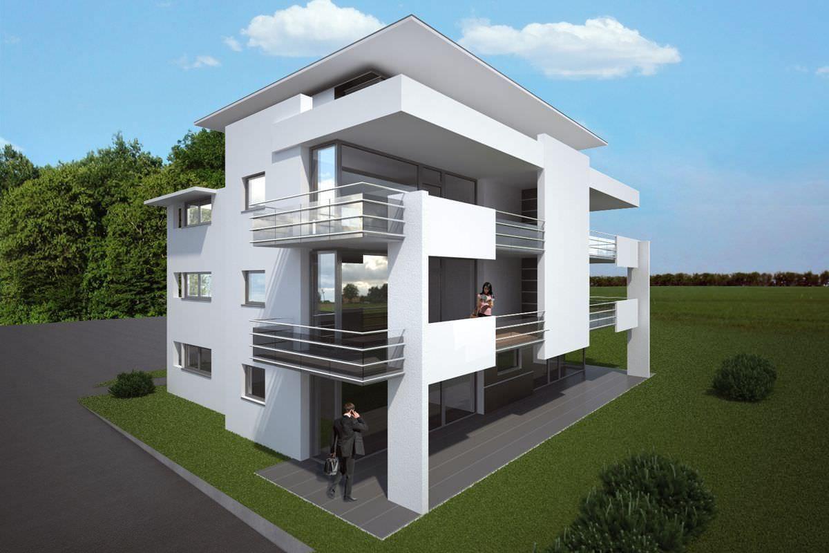 mehrfamilienhaus renningen kittelberger architekt. Black Bedroom Furniture Sets. Home Design Ideas